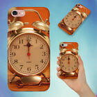 ALARM CLOCK ANALOGUE ANTIQUE CLASSIC HARD BACK CASE FOR APPLE IPHONE PHONE