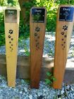 pet memorial grave marker, pet garden marker, pet paws memorial stake, dog, cat
