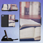 BLACK PEN ON WHITE BOOK PAGE FLIP WALLET CASE FOR APPLE IPHONE PHONES