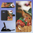 BABY PLAID TOP INSIDE WICKER BASKET FLIP CASE COVER FOR SAMSUNG GALAXY PHONE
