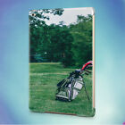 GOLF GOLF BALL GOLF COURSE GOLF FIELD BACK HARD CASE COVER FOR APPLE IPAD