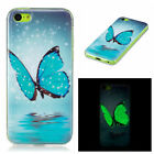 Luminous TPU Soft Case Cover Glow In The Dark Skin For iPhone X SE 5 6 7 8 Plus