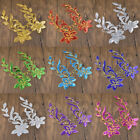 Cute Flower Sequined DIY Patches Handmade Craft Clothing Cute Decoration 1 Pair