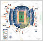2 TICKETS AUBURN TIGERS VS ALABAMA STATE FOOTBALL 9/8/18 End Zone Section 40