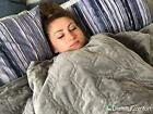 DensityComfort Weighted Blanket Adult Sensory Anxiety 15 lbs 20 lb 25 lb Gravity