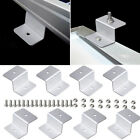 Solar Panel Aluminum Z Shape Mounting Brackets For RV Boat Off Grid Flat Roof