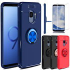 For Samsung Galaxy S9 S9+ Plus Ring Buckle Holder Stand TPU Slim Rubber Case