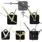 Внешний вид - Quartz Clock Movement Motor Mechanism DIY Kit Battery Powered Black/gold Hands
