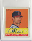 YOU PICK - Cleveland Indians CERTIFIED AUTO GU SERIAL INSERT RC STAR HOF S-3 on Ebay