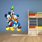 Home Decor Ltd Mickey Mouse, Donald Duck, Goofy 3D WALL STICKER Decor  ART KIDS DECAL Window  Home Decor Tapestries