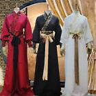 Chinese Ancient Swordsman Mens Clothes Scholar Hanfu Costume Cosplay C9 fashions