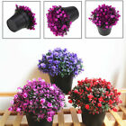 Artificial Fake Planter Bonsai Potted Ball Plant Outdoor Home Garden Decor