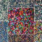 Pack Of 2mm, 11/0 Mixed Seed Beads, Chose Colour, Use For Peyote Craft,jewellery
