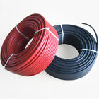 1 Pair Black + Red Solar Panel Extension Cable Wire MC4 Connector 10/12/14 AWG