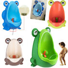 Baby Boys Frog Toilet Potty Training Kids Bathroom Trainer Toddler Urinal Pee