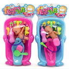 Baby Bath Toys Kids Bathtub Toy Water Floating Fun Play Doll Baby Set Simulated