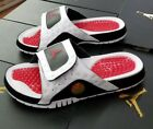 Внешний вид - JORDAN HYDRO XIII RETRO MEN SLIDE WHITE/TRUE RED-BLACK 684915 106