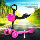 Kick Scooter for Kids - Deluxe 3 Wheel Glider 4 Levels Adjustable LED Light Up