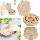 Внешний вид - Baby Teeth Save Organizer Wooden Teeth Storage Fairy Box Keepsake For Girls Boys