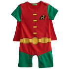 Baby Boy Robin Costume Romper Newborn Halloween Playsuit Infant Party Cos Outfit