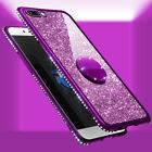 Luxury Bling Diamond Ring Holder Stand Phone Case Cover For iPhone XS Max XR 8 7