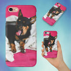YAWNING DOG UNDER A BLANKET HARD BACK CASE FOR APPLE IPHONE PHONE