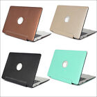 """Luxury Silk Leather Matte Hard Case Skin for MacBook AIR PRO 11""""13"""" 15""""Touch Bar"""