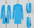 Star Trek:The Next Generation TNG Cosplay Beverly Crusher Costume Blue Coat  HH on eBay