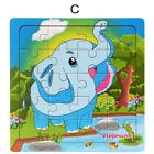 Wooden Animals Puzzle Jigsaw Toddler Kids Early Learning Baby Educational Toys
