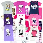 Womens Summer Character Pyjamas Set Novelty Cartoon PJs Short Sleeve Nightwear