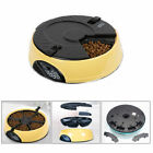 Plastic Automatic Dog Cat Food Bowl Electronic Dispenser Feeder 6 Meal 330ML