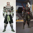 OVERWATCH Genji Evil Ghost Armour Cosplay Full Suit Costume Halloween Customized