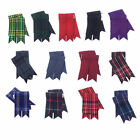 Внешний вид - Scottish Kilt Sock Flashes various Tartans/Highland Kilt Hose Flashes pointed