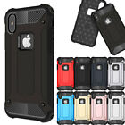 Shockproof Armor Hybrid Hard PC+TPU Case Cover For iPhone X 5 5s SE 6s 7 8 Plus