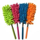 US Handle Extendable Duster Office Home Car Microfiber Dust Cleaning Brush Tools