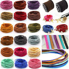 10 Yd Wholesale 3mm Suede Leather String Jewelry Making Bracelet Diy Thread Cord