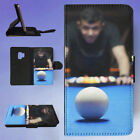 POOL BILLIARDS PERSON PLAYING BILLIARDS FLIP CASE COVER FOR SAMSUNG GALAXY PHONE $14.2 CAD on eBay