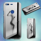 FROSTED GLASS BATHROOM DOOR HARD BACK CASE FOR GOOGLE PIXEL PHONE