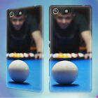 POOL BILLIARDS PERSON PLAYING BILLIARDS HARD BACK CASE FOR SONY XPERIA PHONES $11.53 CAD on eBay