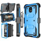 Shockproof Refined Belt Clip Holster Case Cover With Built-in Screen Protector