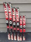 Volkl Unlimited AC Jr Skis With Salomon TZ 5 Jr Adjustable Bindings