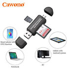 Momery SD card Reader Standard Flash Drives Micro USB OTG to USB 2.0 Adapter New