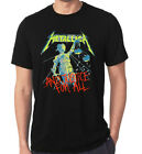 Metallica and justice forall logo t-shirt all size image