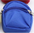 New MIni Zipper Canvas Bag Backpack for Barbie for 1/6 BJD SD DOD Doll Accessory