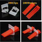 SET Tile Tiling Flat Leveling System Wall Flooring Spacers Wedges Pliers Tools