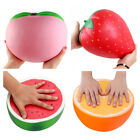 Super Jumbo Soft Squishys Strawberry Peach Watermelon Orange Slow Rising Toys UK