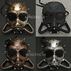 Halloween Dystopian Respirator Gas Steampunk Costume Party Mask