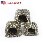 Dog Supplies Pet Bed Puppy Camouflage Cushion Dog House Cat Kennel Warm Pet Pad