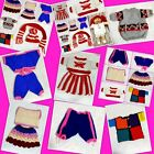 DOLL OR PET CROCHET / KNITTED CLOTHES DRESS UP PET DOG CAT CABBAGE PATCH DOLL