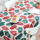 Christmas Decorative Proffer Cloths Rectangular Dining Table Cover Decorations New